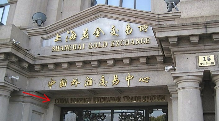 SGE foreign exchange gold system