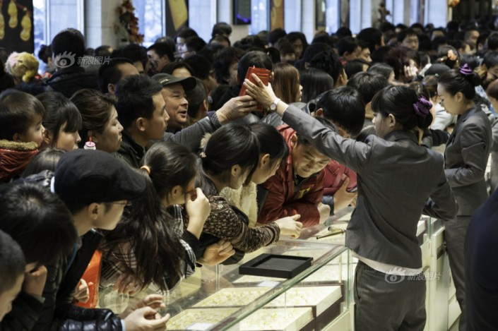 Beijing gold rush, Chinese gold demand 2013