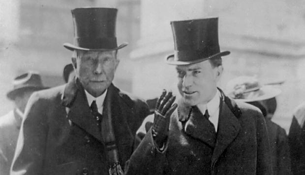 John D. Rockefeller Sr and Jr