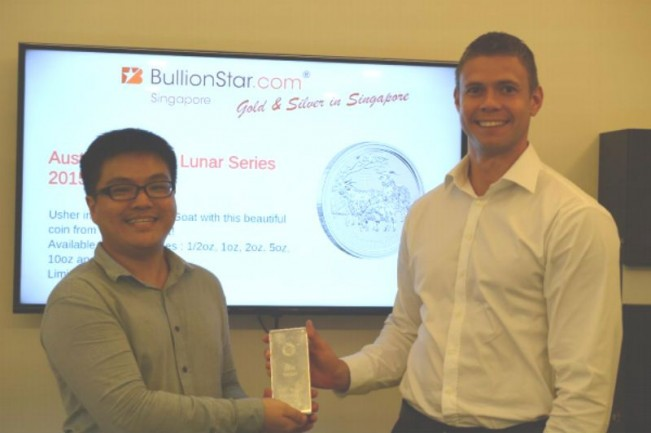 BullionStar – First company in Singapore to pay employees in Gold and Silver!