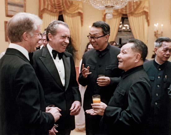 Nixon and Deng Xiaoping