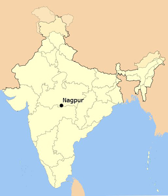 Nagpur in India