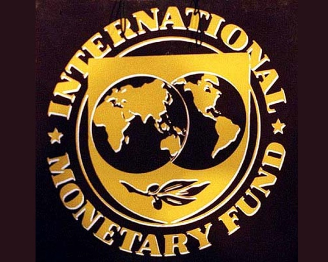 IMF gold sign
