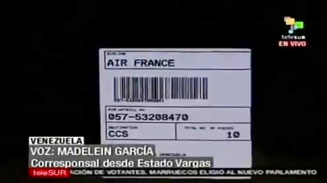 Air France - air waybill