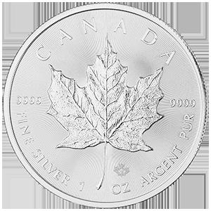 Silver Maple Leaf Sales Surge 76 % Y/Y