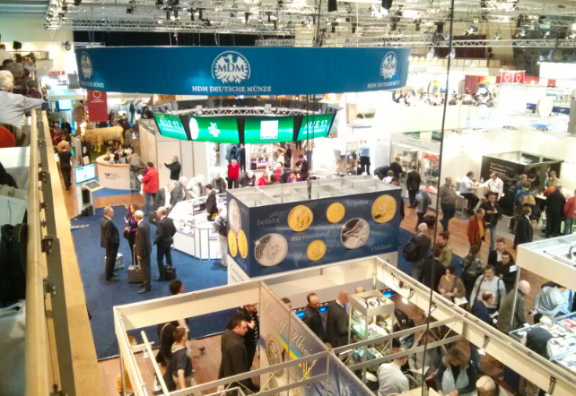 World Money Fair Exhibition Floor - Berlin