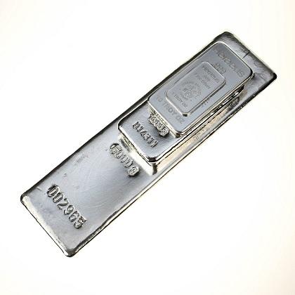 Heraeus silver bars