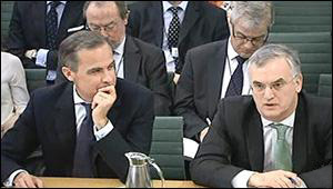 Mark Carney and Paul FIsher