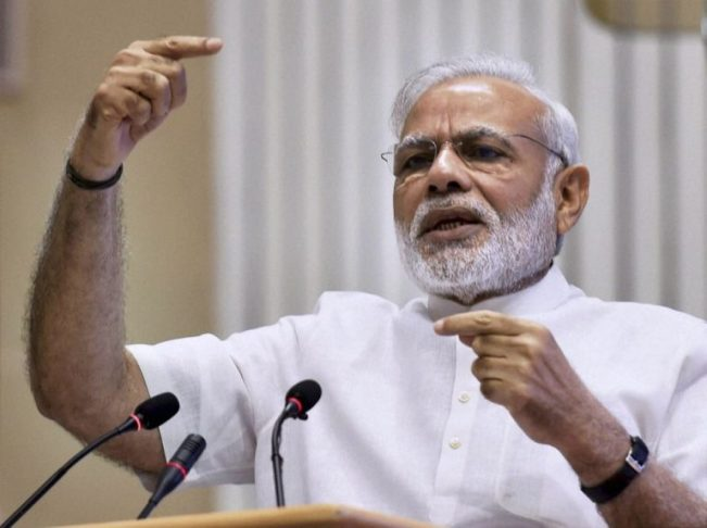 India's prime minister Nahendra Modi, author of the recent overnight currency ban Photo credit: Indiatimes.com