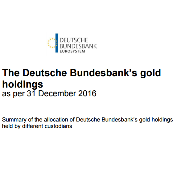 Germany's Gold remains a Mystery as Mainstream Media cheer leads