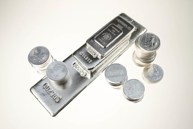 BullionStar investment silver bars and coins