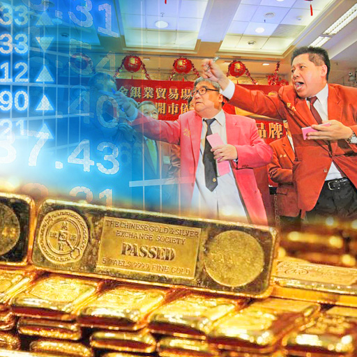 Eastern buying of physical gold