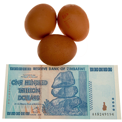 Hyperinflation in Zimbabwe – It's back, but maybe not for long