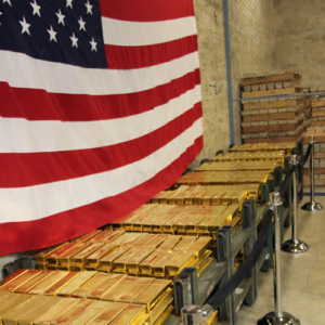 The only gold the US shows – A working vault at West Point