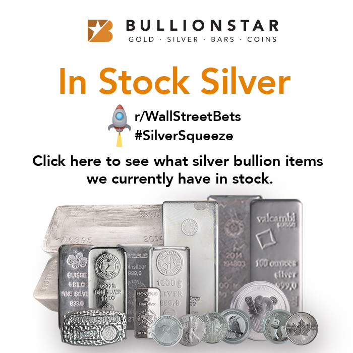 Click here to see what silver bullion item we currently have in stock