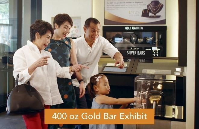 Lift a 400 oz Gold Bar