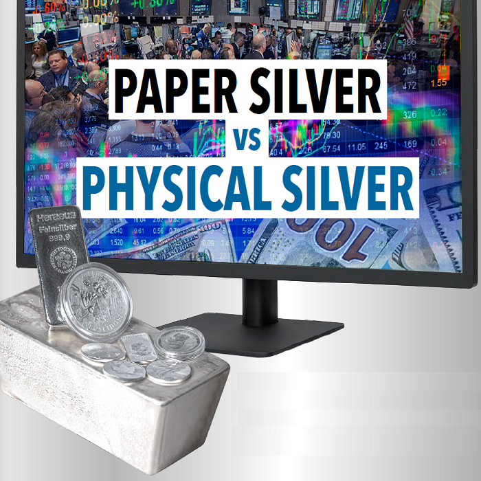 Infographic: Paper Silver vs Physical Silver