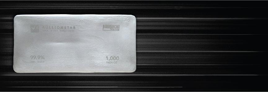 1,000 oz Silver Bars