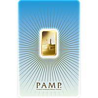 PAMP Gold Bar - Faith Series - Ka´Bah Mecca - 5 g