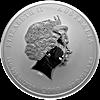 Australian Silver Lunar Series 2013 - Year of the Snake - 1 kg