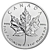 Canadian Platinum Maple Leaf - 2015 - 1 oz