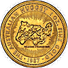 Australian Gold Kangaroo Nugget 1987 - 1 oz