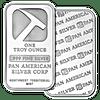 Pan American Silver Bar - 1 oz
