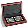Volterra Coin Box for 2 Quadrum Coin Capsules