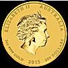 Australian Gold Lunar Series 2015 - Year of the Goat - 2 oz