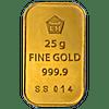 Logam Mulia Gold Bar - 25 g