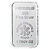 Heraeus Silver Bar - 1 oz