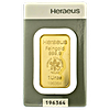 Heraeus Kinebar Gold Bar - 1 oz