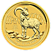 Australian Gold Lunar Series 2015 - Year of the Goat - 1 oz