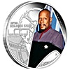 Tuvalu 2015 Silver Star Trek Series - Captain Benjamin Sisko - 1 oz