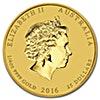 Australian Gold Lunar Series 2016 - Year of the Monkey - 1/4 oz