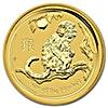 Australian Gold Lunar Series 2016 - Year of the Monkey - 1/10 oz