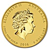 Australian Gold Lunar Series 2016 - Year of the Monkey - 1/20 oz
