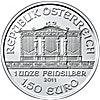Austrian Silver Philharmonic 2011 - 1 oz