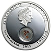 Australia 2013 Treasures of the World locket - Silver Proof Coin - 1 oz