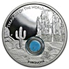 Australia Silver Treasures of the World locket coin 2015 - Proof - 1 oz