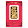 PAMP Lunar Series 2012 Gold Bar - Year of the Dragon - 1 oz