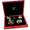 United Kingdom Gold Sovereign 1991 4 coin set - Proof - 2 oz