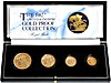 United Kingdom Gold Sovereign 1982 4 coin set - Proof - 2 oz
