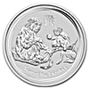 Australian Silver Lunar Series 2016 - Year of the Monkey - 10 oz