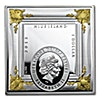 Niue 2015 Silver Missing Works of Art - Double Portrait of Eliza - 1 oz