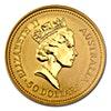Australian Gold Kangaroo Nugget 1990 - 1/2 oz