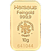 Heraeus Gold Bar - 10 g