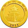 Chinese Gold Panda 2013 - 1/20 oz