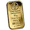 UBS Gold Bar - Circulated in good condition - 10 g