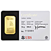 UBS Kinebar Gold Bars (Circulated in good condition)
